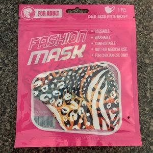 Adult Animal Safari Print Mask
